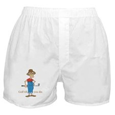 Golf till you die Boxer Shorts