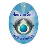 Heaven Sent Wellness Institut Oval Ornament