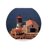 "Point Reyes Lighthouse 3.5"" Button"