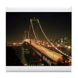 Oakland Bay Bridge Tile Coaster