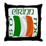 'I Am of Ireland' (Flag) Throw Pillow
