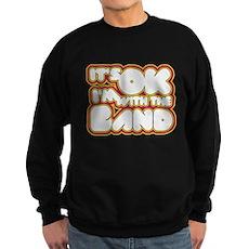 I'm With The Band Dark Sweatshirt