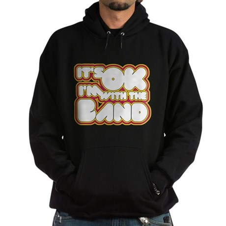 I'm With The Band Dark Hoodie