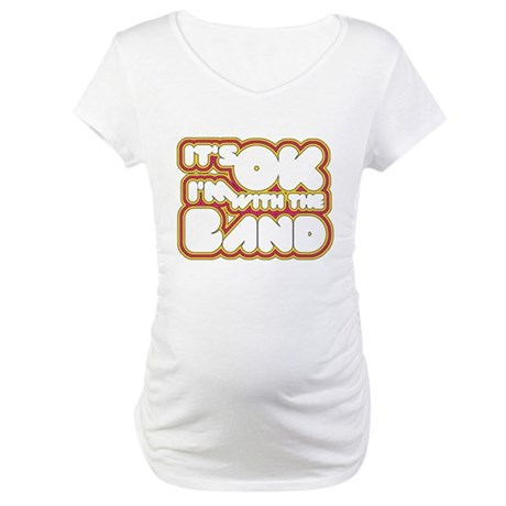 I'm With The Band Maternity T-Shirt