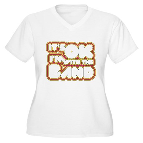 I'm With The Band Plus Size V-Neck Shirt