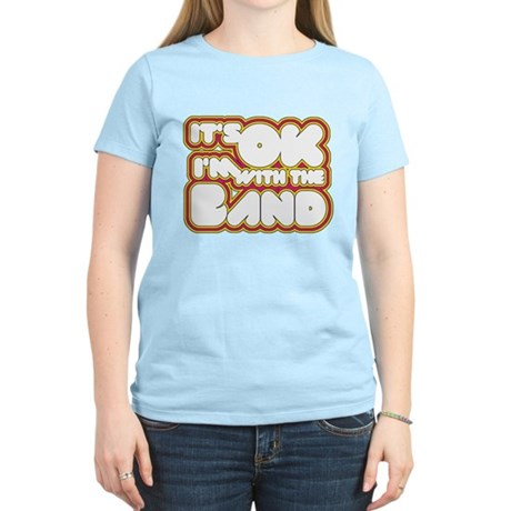 I'm With The Band Womens Light T-Shirt