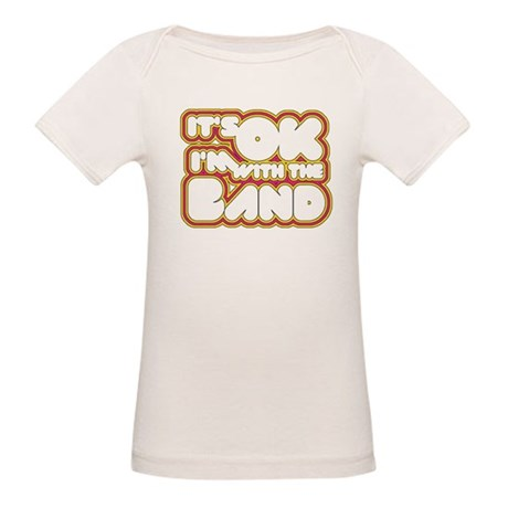 I'm With The Band Organic Baby T-Shirt