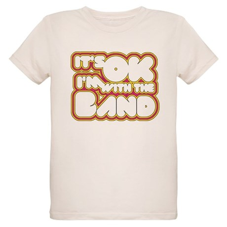 I'm With The Band Organic Kids T-Shirt