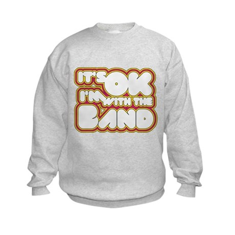 I'm With The Band Kids Sweatshirt
