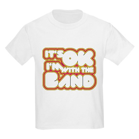 I'm With The Band Kids Light T-Shirt
