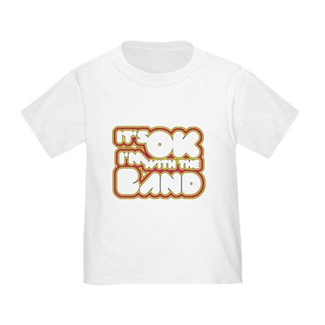 I'm With The Band Toddler T-Shirt