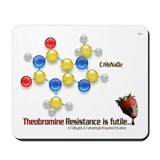 Chocolate Molecule Mousepad