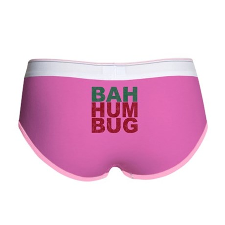 Bah Humbug Womens Boy Brief