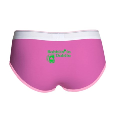 Bubblin' in Dublin Womens Boy Brief