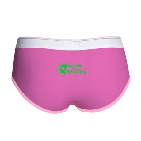 Irish I Were Drunk Womens Boy Brief
