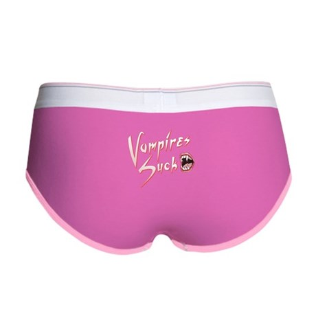 Vampires Suck Womens Boy Brief
