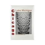 Lake Michigan Rectangle Magnet