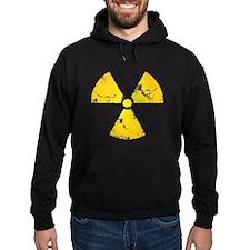 Distressed Radiation Symbol Hoodie