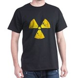 Distressed Radiation Symbol T-Shirt