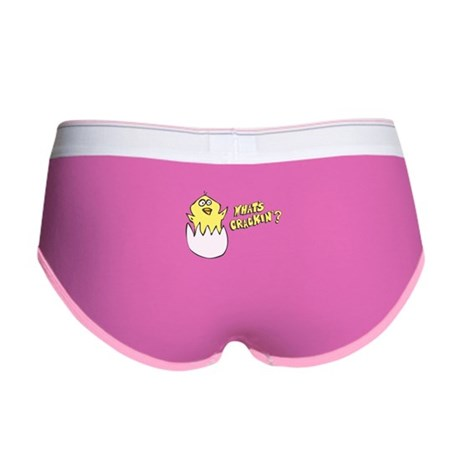What's Crackin' Womens Boy Brief
