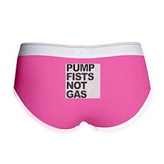 Pump Fists Not Gas Womens Boy Brief