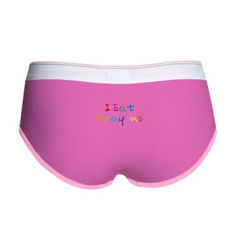 I Eat Crayons Womens Boy Brief