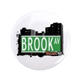 "Brook Av, Bronx, NYC 3.5"" Button (100 pack)"