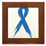 Blue Ribbon Framed Tile