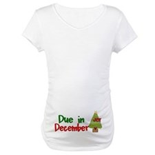 Due in December Maternity Shirt