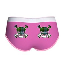 Lamont Tartan Skull Women's Boy Brief