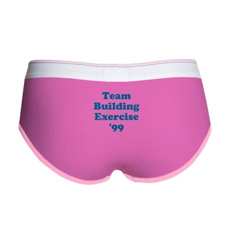 Team Building Exercise '99 Womens Boy Brief