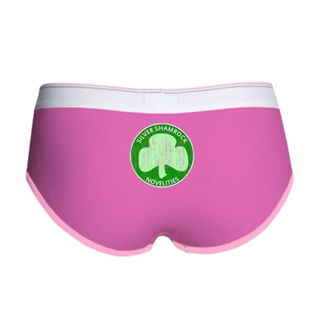 Silver Shamrock Womens Boy Brief