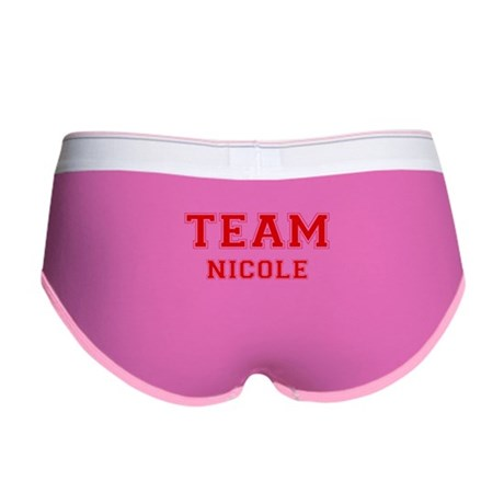 Team Nicole Womens Boy Brief