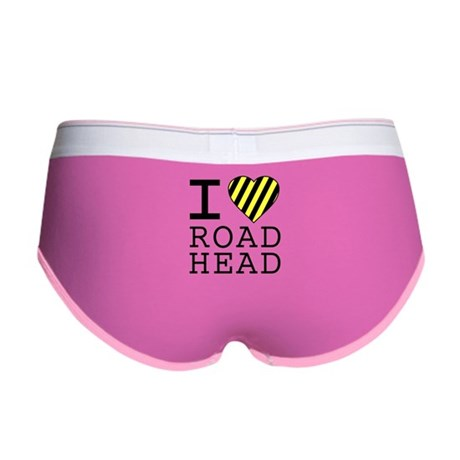 I Love Road Head Womens Boy Brief