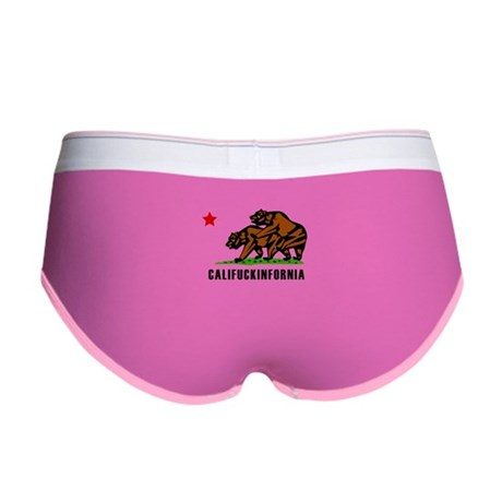 Califuckinfornia Womens Boy Brief