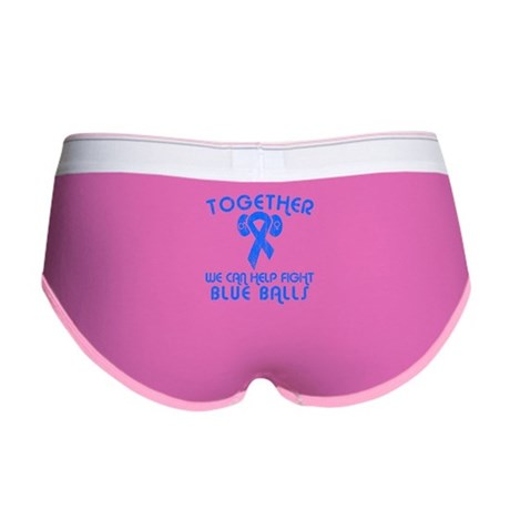 Help Fight Blue Balls Womens Boy Brief