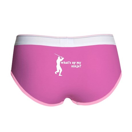 what's up my ninja? Womens Boy Brief