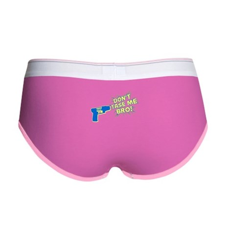 Don't Tase Me Bro! Womens Boy Brief