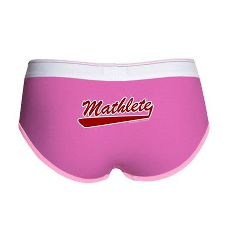 Mathlete Womens Boy Brief