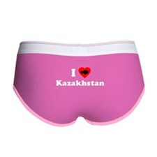 I Love [Heart] Kazakhstan Women's Boy Brief