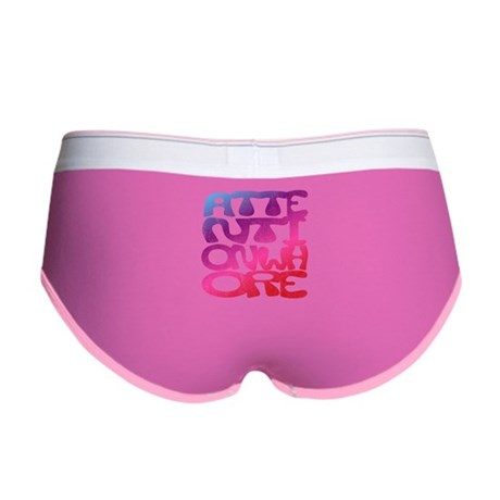 Attention Whore Womens Boy Brief