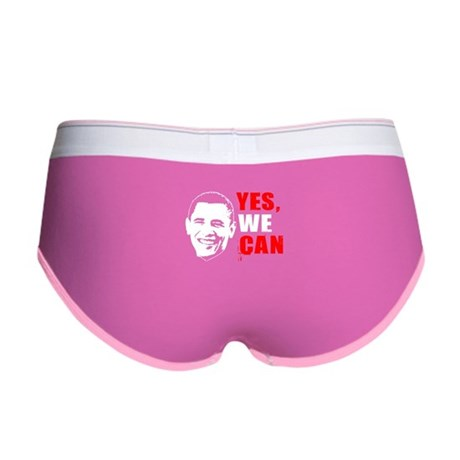 Obama Yes, We Can Women's Boy Brief