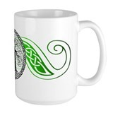 Celtic Wisdom Tree I.V. Ceramic Mugs