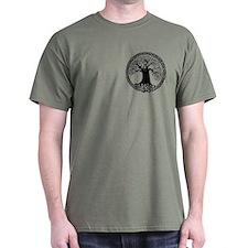 Celtic Wisdom Tree I.V. T-Shirt (pocket)