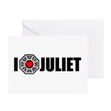 I Love Juliet - Dharma Greeting Cards (Pk of 10)