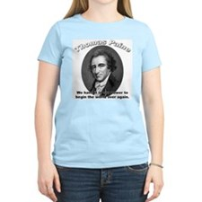 Thomas Paine 01 Women's Pink T-Shirt