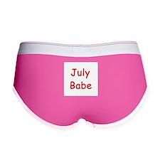 JULY BABE Women's Boy Brief