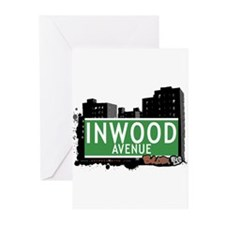 Inwood Av, Bronx, NYC Greeting Cards (Pk of 20)