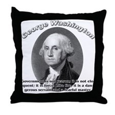 George Washington 02 Throw Pillow