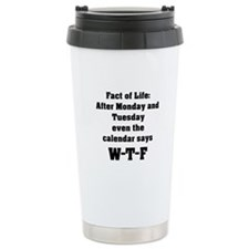 Fact of Life Ceramic Travel Mug